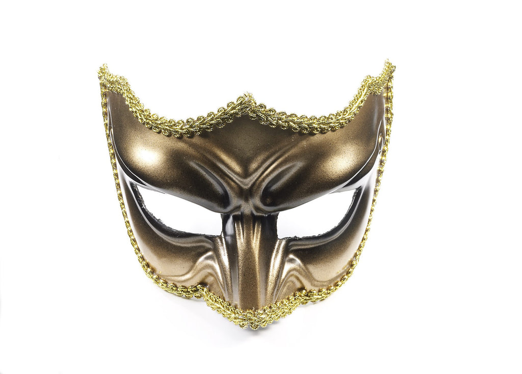Half Mask W/Eyeglass-Im-313-2 - HalloweenCostumes4U.com - Accessories