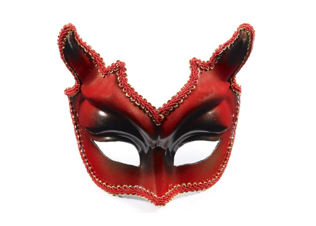 Half Mask W/Eyeglass-Im-328 - HalloweenCostumes4U.com - Accessories