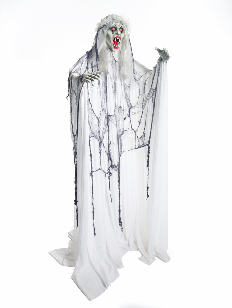 Prop-Hanging Vampire Bride - HalloweenCostumes4U.com - Decorations