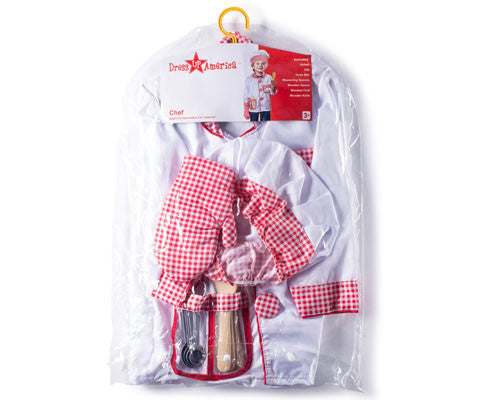Kids Chef Dress Up Kit - HalloweenCostumes4U.com - Kids Costumes - 4