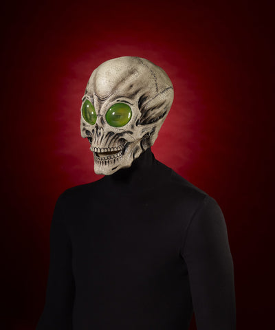 Mask-Alien Skull - HalloweenCostumes4U.com - Accessories