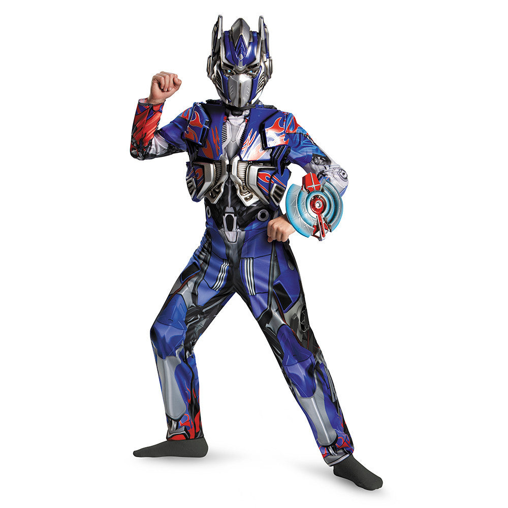 Boys Transformers Deluxe Optimus Prime Costume - HalloweenCostumes4U.com - Kids Costumes