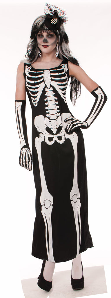 Costume - Bone - Long Dress - HalloweenCostumes4U.com - Costumes