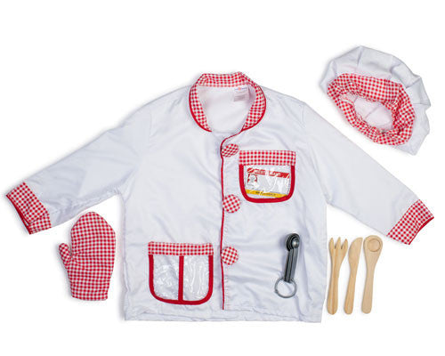 Kids Chef Dress Up Kit - HalloweenCostumes4U.com - Kids Costumes - 3