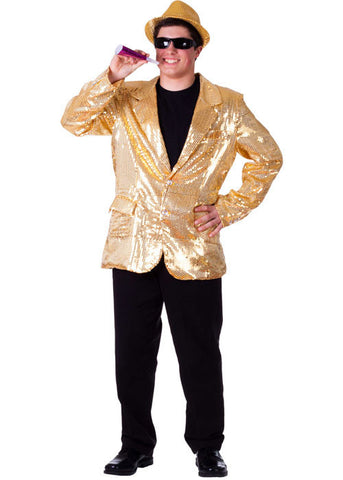 Mens Sequined Blazer - Various Colors - HalloweenCostumes4U.com - Adult Costumes - 1
