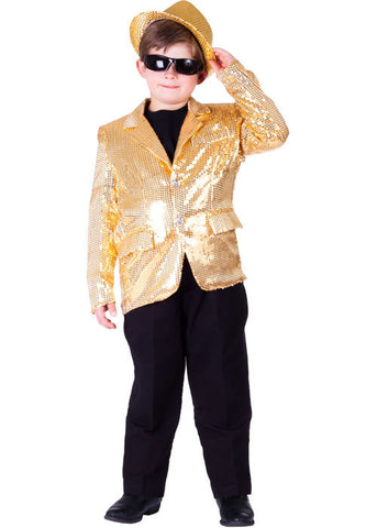 Boys Sequined Blazer - Various Colors - HalloweenCostumes4U.com - Kids Costumes - 1
