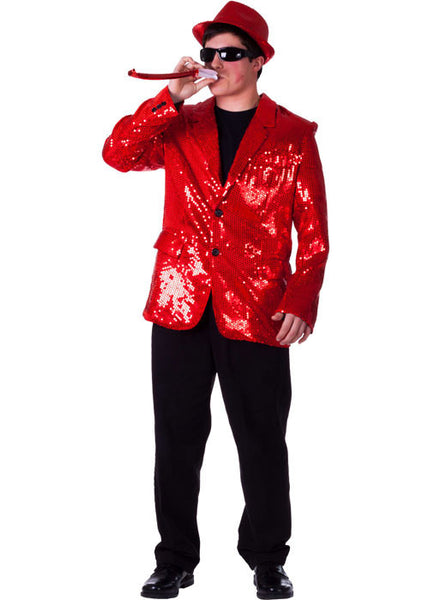 Mens Sequined Blazer - Various Colors - HalloweenCostumes4U.com - Adult Costumes - 3