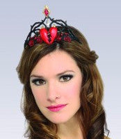 Queen of Broken Hearts Tiara - HalloweenCostumes4U.com - Accessories