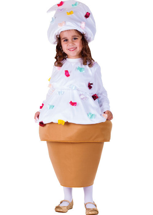Girls Ice Cream Cone Costume - HalloweenCostumes4U.com - Kids Costumes