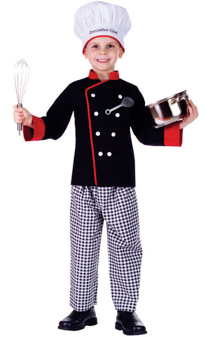 Kids Executive Chef Costume - HalloweenCostumes4U.com - Kids Costumes