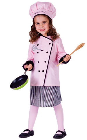 Girls Master Chef Costume - HalloweenCostumes4U.com - Kids Costumes