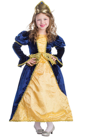 Girls Renaissance Princess Costume - HalloweenCostumes4U.com - Kids Costumes