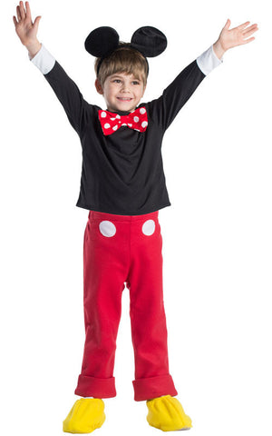 Boys Mr. Mouse Costume - HalloweenCostumes4U.com - Kids Costumes - 1