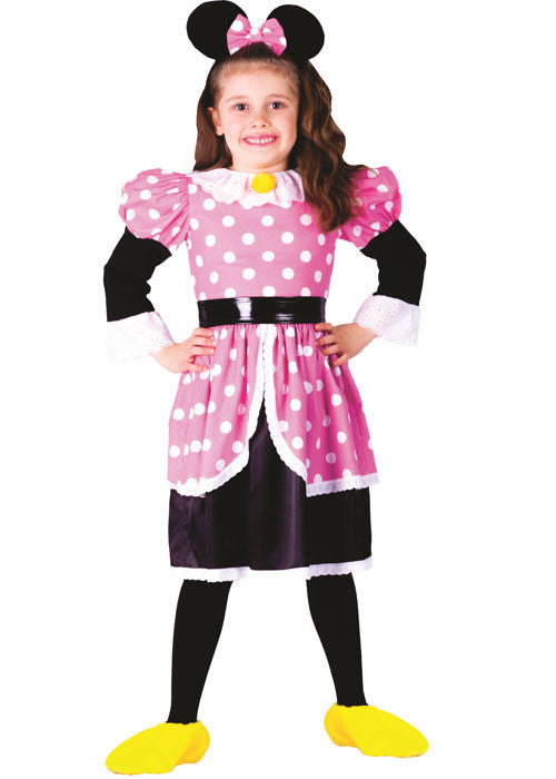 Girls Miss Mouse Costume - HalloweenCostumes4U.com - Kids Costumes