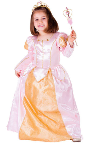 Girls Pink Belle of the Ball Costume - HalloweenCostumes4U.com - Kids Costumes