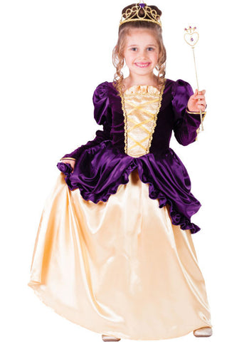 Girls Purple Belle Costume - HalloweenCostumes4U.com - Kids Costumes
