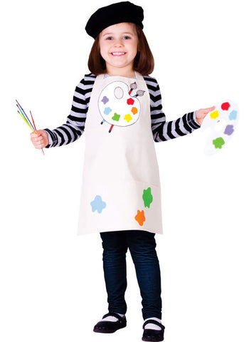 Girls Talented Artist Costume - HalloweenCostumes4U.com - Kids Costumes