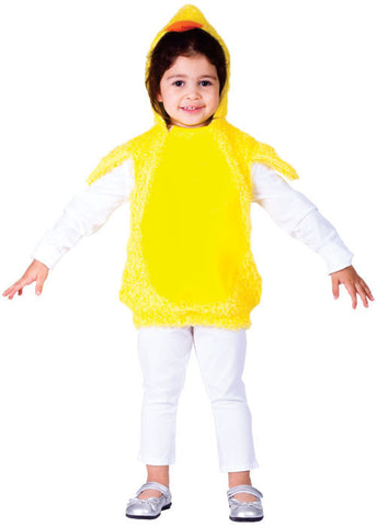 Girls Baby Chick Costume