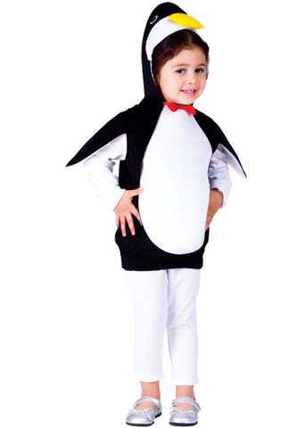 Girls Happy Penguin Costume - HalloweenCostumes4U.com - Kids Costumes