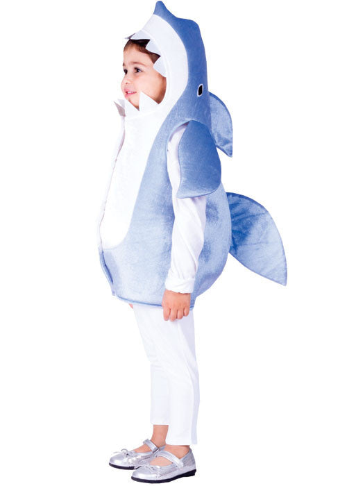 Kids Sky Blue Shark Costume - HalloweenCostumes4U.com - Kids Costumes
