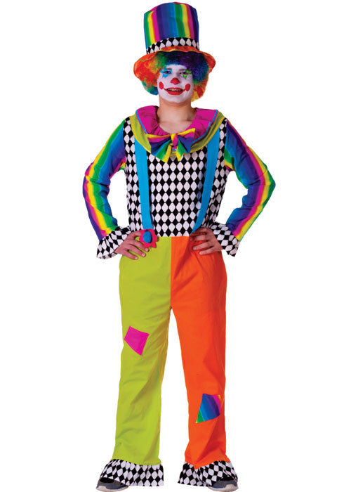 Mens Jolly Clown Costume - HalloweenCostumes4U.com - Adult Costumes