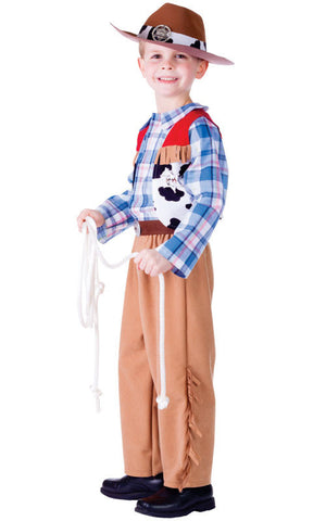Boys Junior Cowboy Costume - HalloweenCostumes4U.com - Kids Costumes