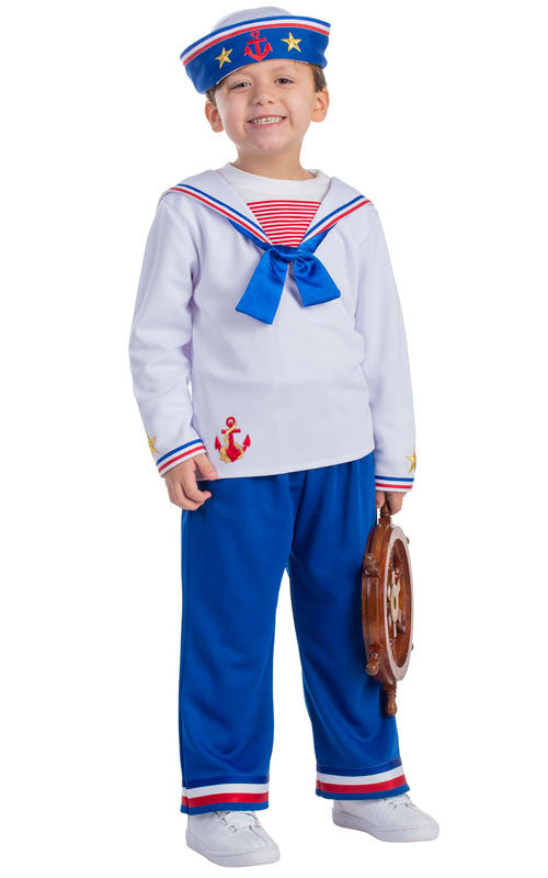 Boys Sailor Costume - HalloweenCostumes4U.com - Kids Costumes