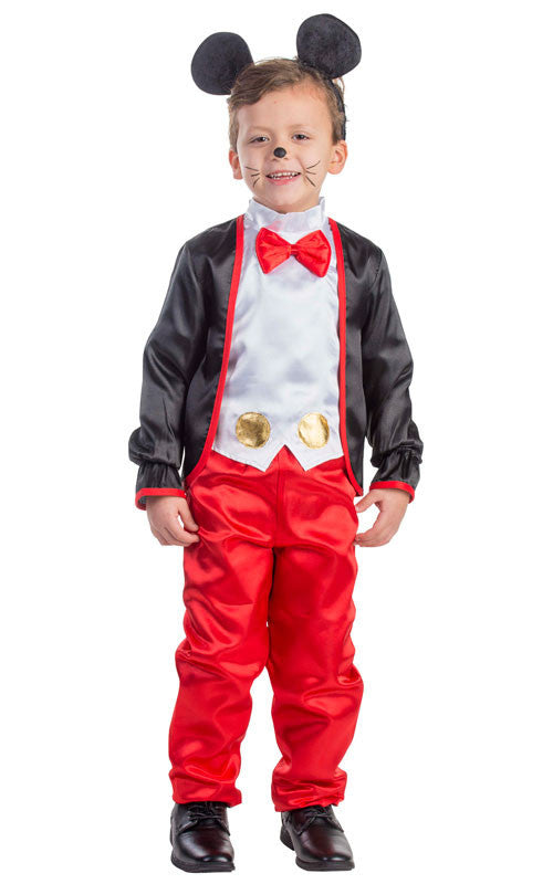 Boys Charming Mr. Mouse Costume - HalloweenCostumes4U.com - Kids Costumes