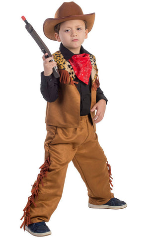 Boys Wild West Cowboy Costume - HalloweenCostumes4U.com - Kids Costumes