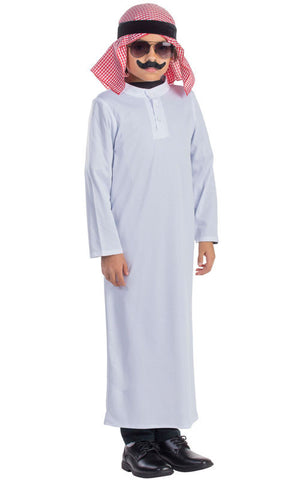 Boys Arabian Sheik Costume - HalloweenCostumes4U.com - Kids Costumes