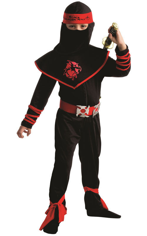 Boys Ninja Warrior Costume - HalloweenCostumes4U.com - Kids Costumes