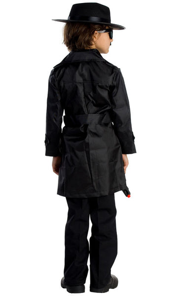 Boys Spy Agent Costume - HalloweenCostumes4U.com - Kids Costumes - 2