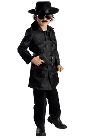 Boys Spy Agent Costume - HalloweenCostumes4U.com - Kids Costumes - 1