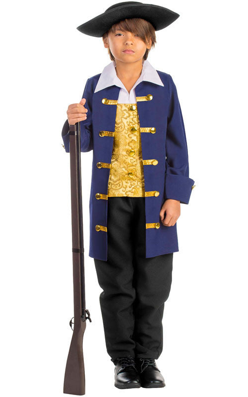 Boys Colonial Aristocrat Costume - HalloweenCostumes4U.com - Kids Costumes