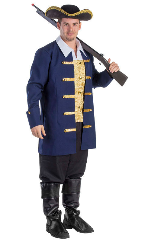 Mens Colonial Aristocrat Costume - HalloweenCostumes4U.com - Adult Costumes