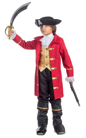 Boys Pirate Captain Costume - HalloweenCostumes4U.com - Kids Costumes