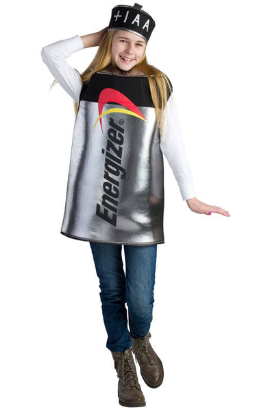 Kids Energizer Battery Costume - HalloweenCostumes4U.com - Kids Costumes - 1