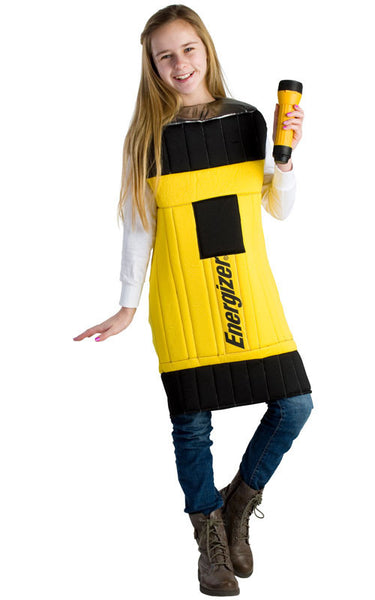 Kids Energizer Flashlight Costume - HalloweenCostumes4U.com - Kids Costumes - 1