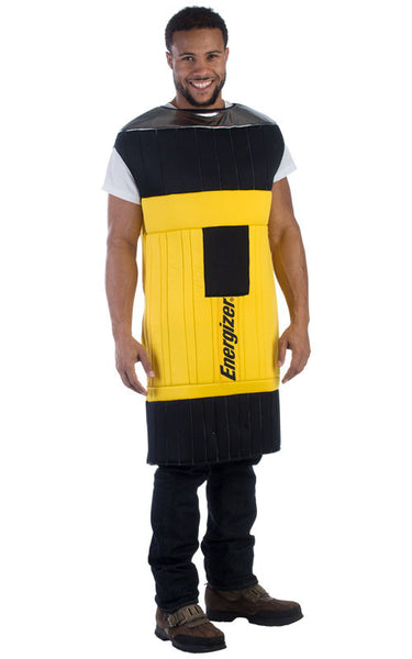 Adults Energizer Flashlight Costume - HalloweenCostumes4U.com - Adult Costumes - 1