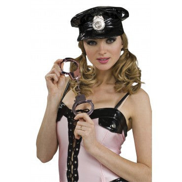 Pink Handcuffs - HalloweenCostumes4U.com - Accessories