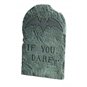 If You Dare Tombstone Prop - HalloweenCostumes4U.com - Decorations