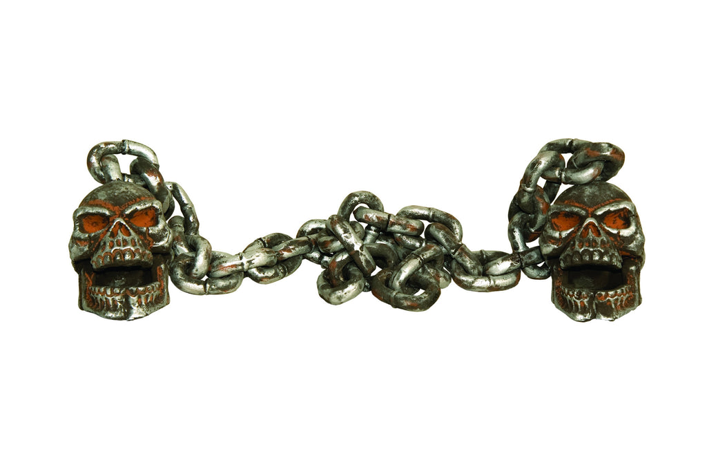 Skull Chain Decoration - HalloweenCostumes4U.com - Decorations