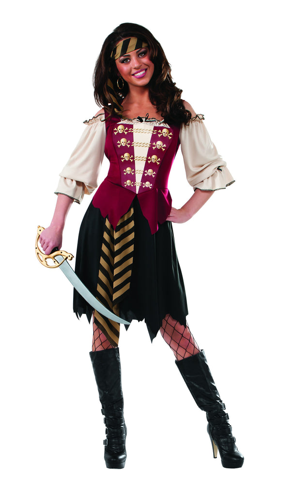 Womens Elegant Pirate - HalloweenCostumes4U.com - Adult Costumes