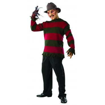 Mens/Teens Nightmare on Elm Street Deluxe Freddy Costume - HalloweenCostumes4U.com - Adult Costumes