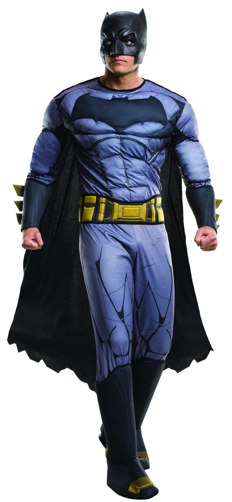 Mens Deluxe Batman Costume - HalloweenCostumes4U.com - Adult Costumes