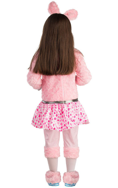 Girls Energizer Bunny Costume - HalloweenCostumes4U.com - Kids Costumes - 2