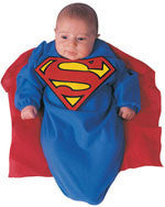 Infants Superman Bunting Costume - HalloweenCostumes4U.com - Infant & Toddler Costumes