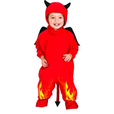 Infants Lil' Devil Costume - HalloweenCostumes4U.com - Infant & Toddler Costumes
