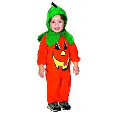 Infants Lil' Pumpkin Costume - HalloweenCostumes4U.com - Infant & Toddler Costumes