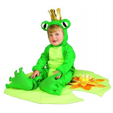 Infants Lil' Frog Prince Costume - HalloweenCostumes4U.com - Infant & Toddler Costumes